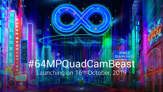 Redmi Note 8 Pro – The 64MP camera phone launching on October 16