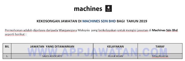 Machines Sdn Bhd