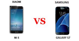 Samsung Galaxy S7 vs Xiomi Mi 5