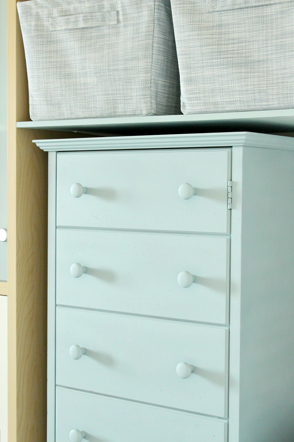 DIY Chalk Paint Cabinet Makeover with RustOleums Chalk Paint