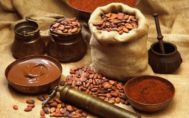 اصل الشوكولاتة