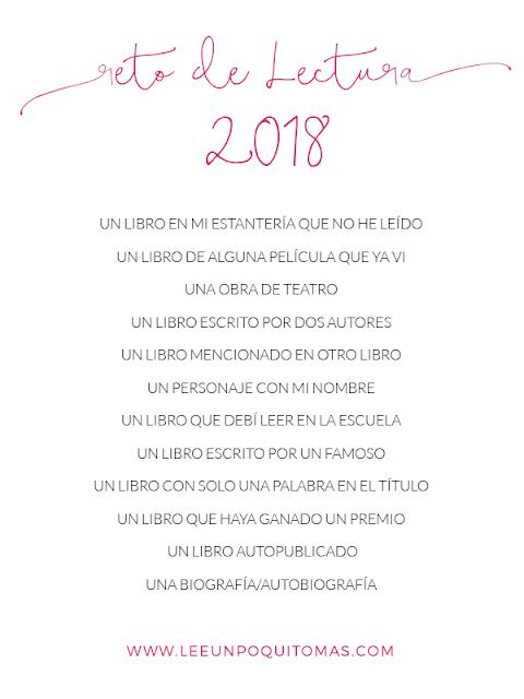 Reto de Lectura 2018