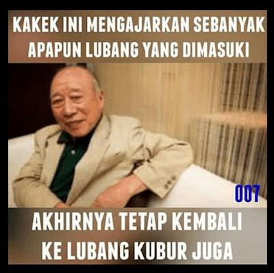 15 Meme 'Kakek Genit' Ini Dijamin Bikin Ngakak, Buat Yang Ngerti Aja!