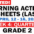 GRADE 2 Updated LEARNING ACTIVITY SHEETS (Q3: Week 4) April 12-16, 2021