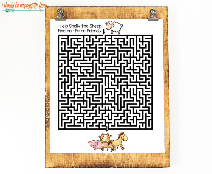 Cute Printable Mazes