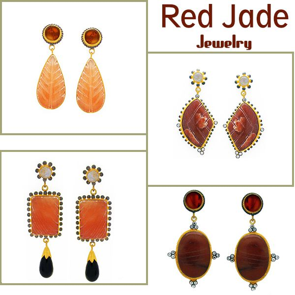 Red jade jewelry