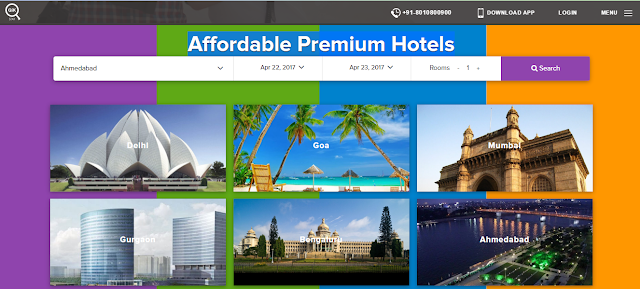 qikstay hotel booking alternative