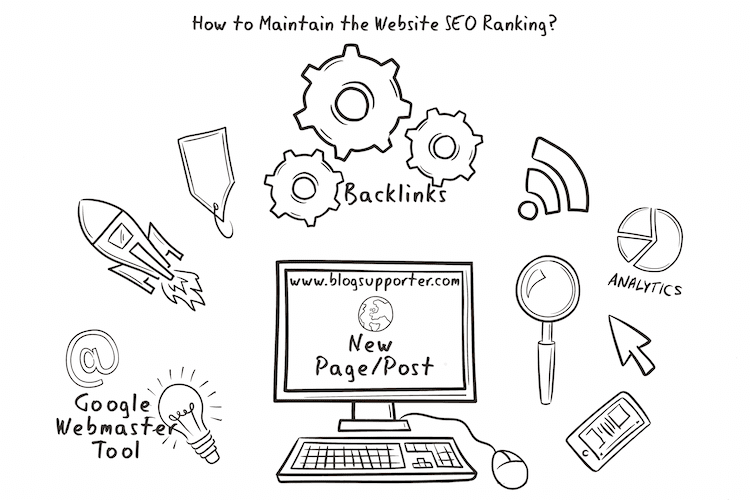 Maintain Website SEO Ranking