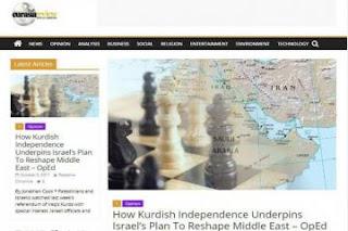 انفصال كردستان خطة اسرائيلية لإعادة تشكيل الشرق الاوسط من جديد !