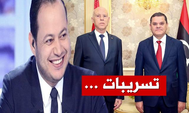 سمير الوافي - عبد الحميد الدبيبة - قيس سعيد - samir elwafi kais saied dbeibah libya