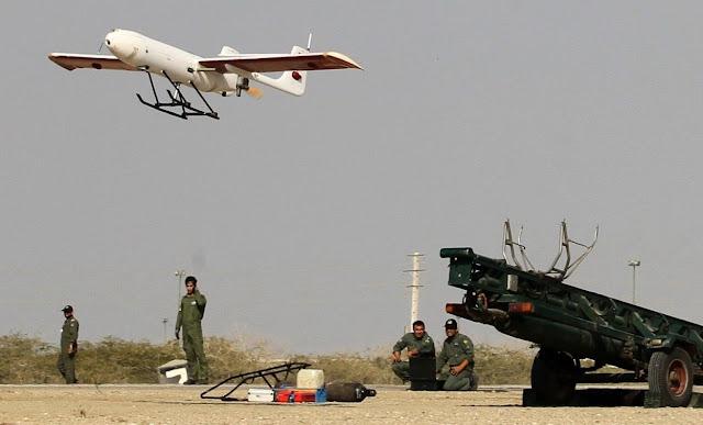 الطائرة بلا طيار الايرانية الدرون الايراني   DRONE UAV  Handbook of Iranian Drones     مهاجر-2 / Mohajer-2