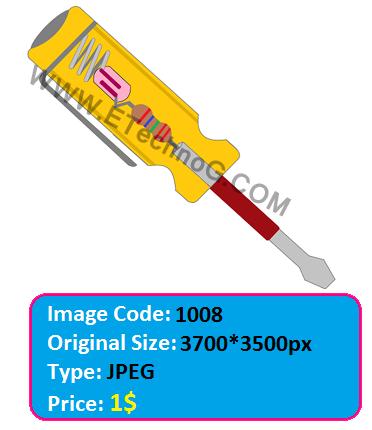 Electrical Neon Tester illustration image, neon tester diagram, neon tester internal circuit, electrical tester diagram