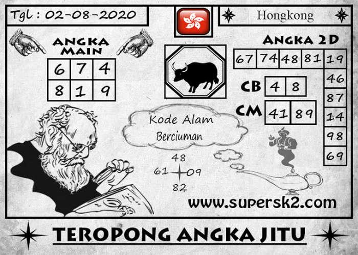 Kode syair Hongkong Minggu 2 Agustus 2020 239