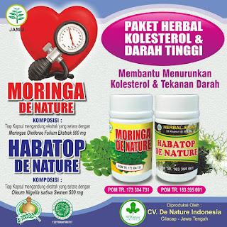 De Nature Obat kolesterol alami paling ampuh