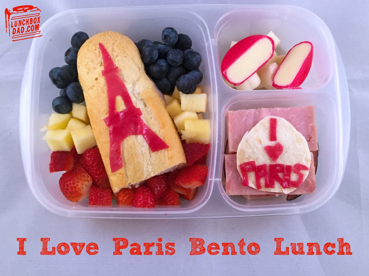 I love Paris French bento lunch