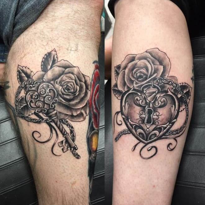 Tattoo Designs For Couples: 100+ Matching Couple Tattoos Ideas & Designs {2018}