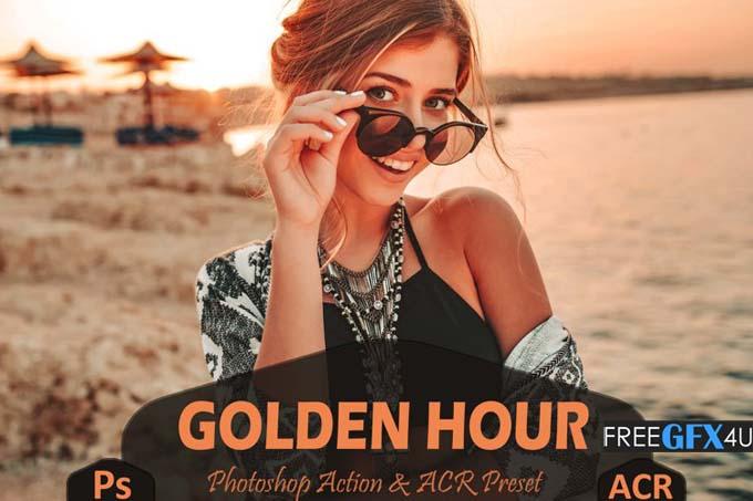 10 Golden Hour Photoshop Actions & ACR Presets