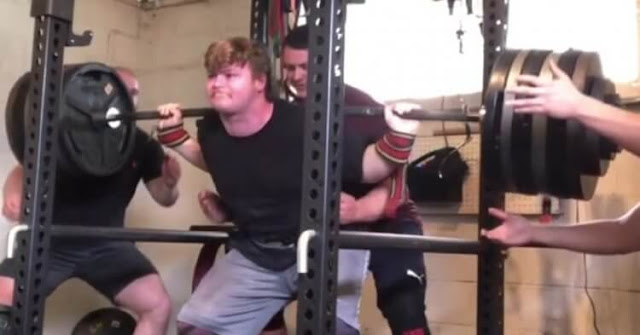 Max Shethar Breaks The New Weight With A Massive 660lb Squat
