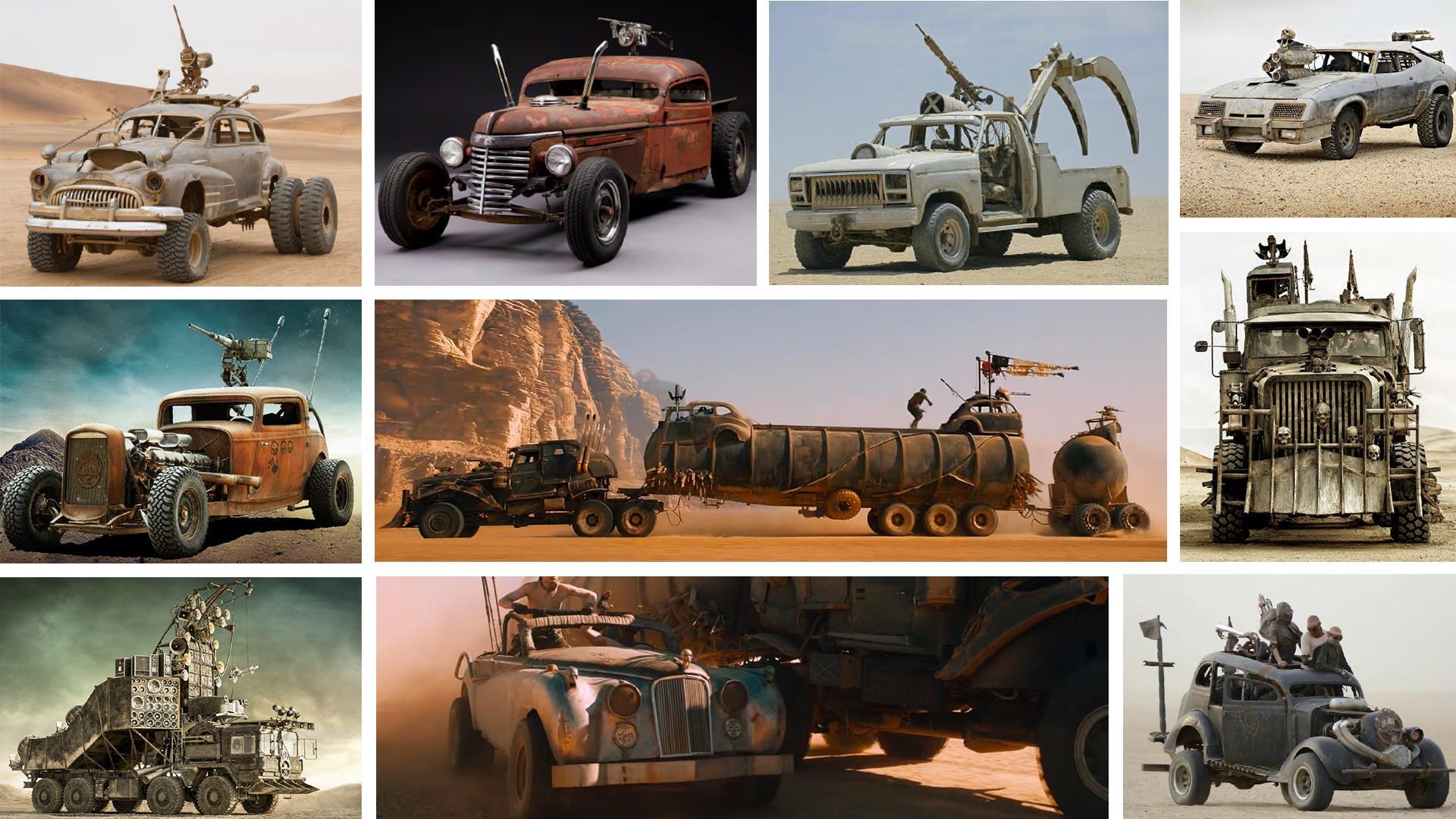 13 سيارة من فيلم ماد ماكس فيوري رود تعرض للبيع في مزاد