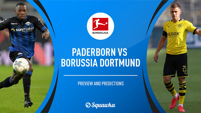 مشاهدة مباراة بوروسيا دورتموند وبادربورن