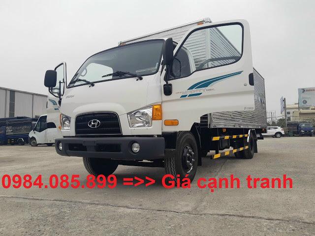Xe tải 7 tấn Hyundai 110XL thùng kín