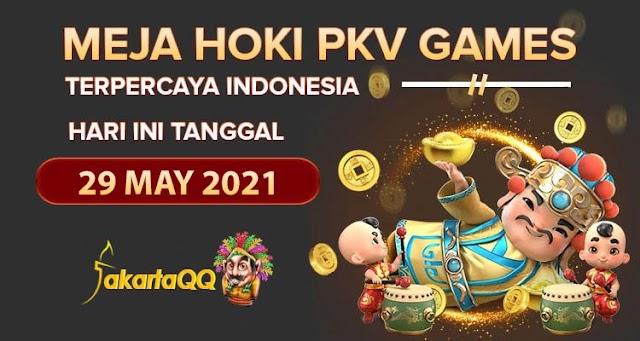 Berita Pkv Bocoran Meja Hoki Pkv Games JakartaQQ Tanggal 29 May 2021