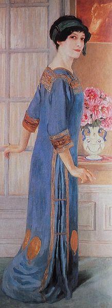 """Clémentine Hélène Dufau, """"Autorretrato"""""""