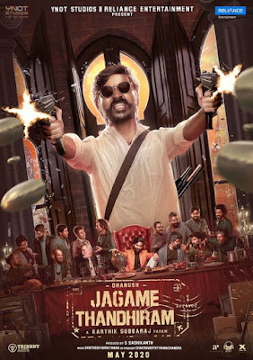 Jagame Thandhiram (2021) Hindi Dubbed 5.1ch ORG 720p | 480p UNCUT HDRip ESub x264 1.3Gb | 500Mb