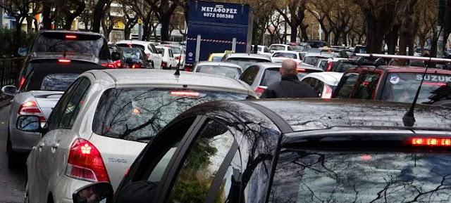 Ήγουμενίτσα: Έντονο το κυκλοφοριακό πρόβλημα στην Ηγουμενίτσα