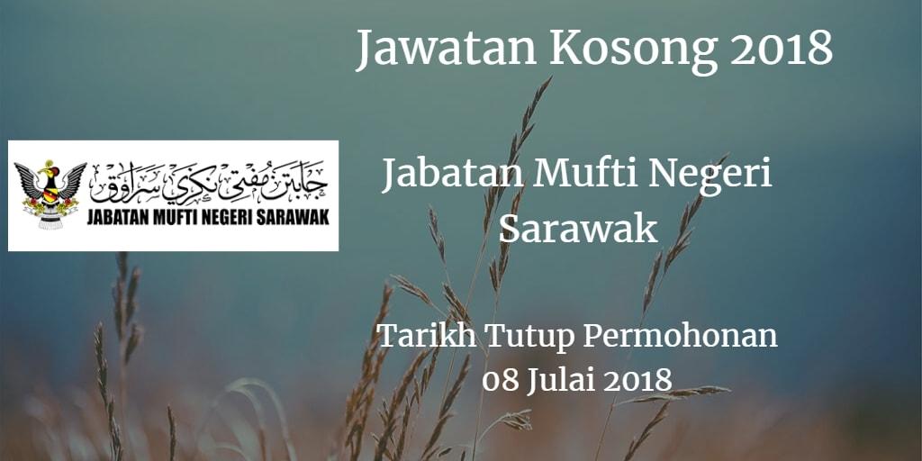 Jawatan Kosong Jabatan Mufti Negeri Sarawak 08 Julai 2018