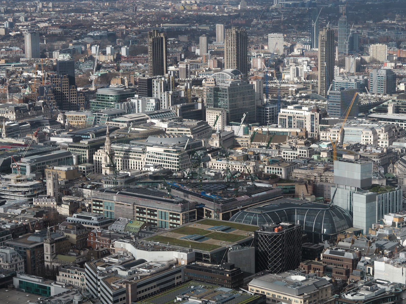 The City of London from The View from The Shard