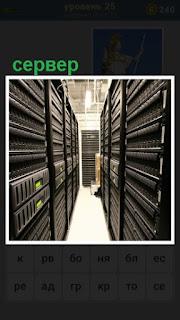 в помещении находится аппаратура, работает сервер