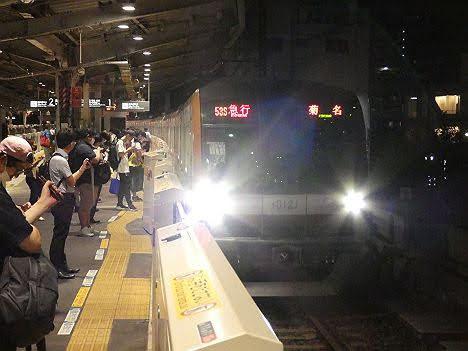 【ダイヤ改正で深夜運行!】東急東横線 急行 菊名行き6 東京メトロ10000系