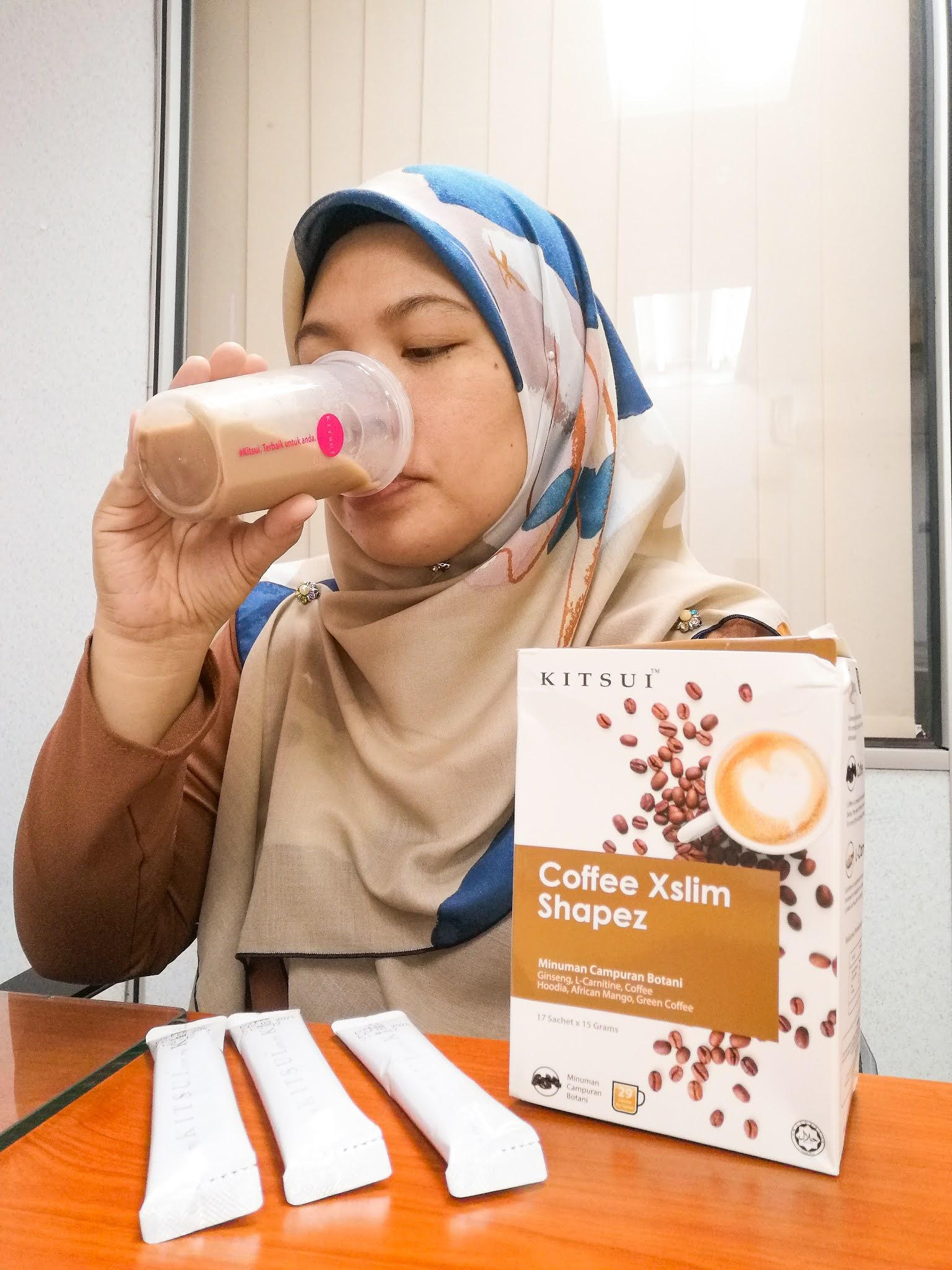 Minum Coffee Xslim Shapez untuk Menjaga Bentuk Badan Anda