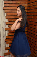 Radhika Mehrotra in a Deep neck Sleeveless Blue Dress at Mirchi Music Awards South 2017 ~  Exclusive Celebrities Galleries 091.jpg