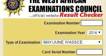 www:waecdirect:org | Your WAEC Result Checker for May/June | MARTINS
