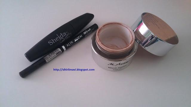 sheida, alix avien, m.asam, blog, blogger, sihirlimavi, eyeliner, rimel, maskara, mascara, fondöten