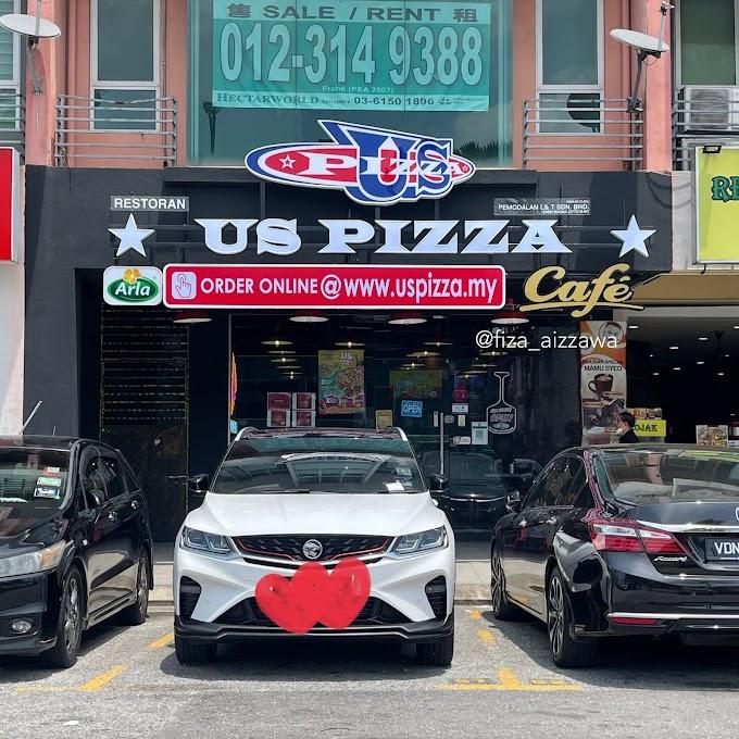 Sambal Petai US Pizza betul ke sedap? Nak tahu pizza sedap ke tak, tengok kat topping dia