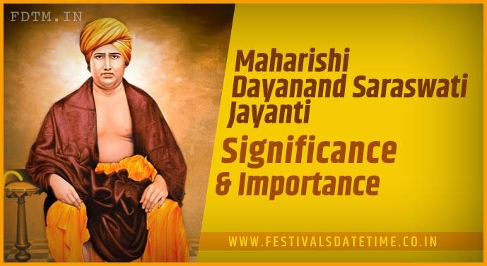 Maharishi Dayanand Saraswati Jayanti: Importance and Significance