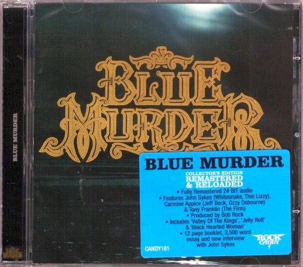 BLUE MURDER - Blue Murder [Rock Candy remaster]  full