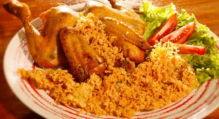 Resep Ayam Goreng Kremes, Kalasan, Ungkep, BumbuKuning, Lengkuas Dan Kecap