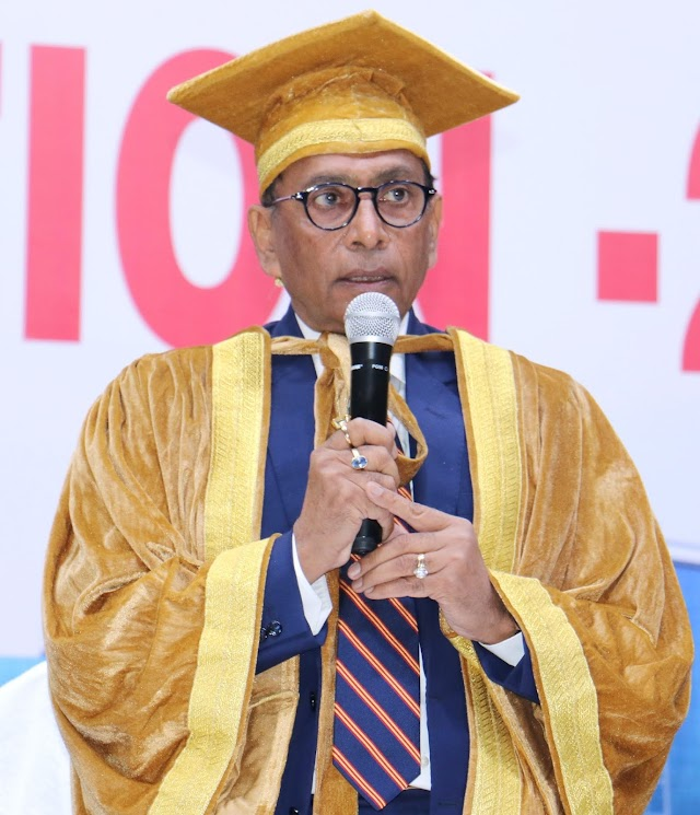 Convocation in Nims University 2018 - Dr BS Tomar