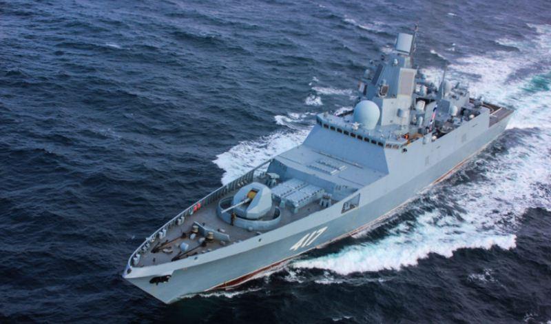 Fregat Admiral Gorshkov Angkatan Laut Rusia