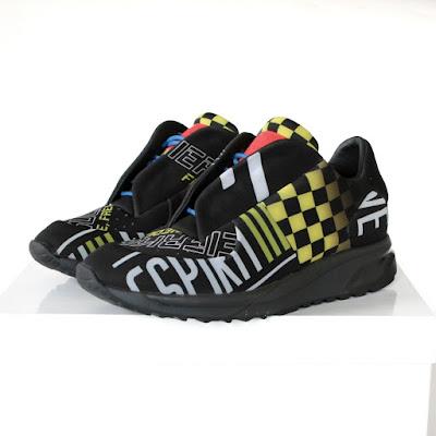 6d38b893dc440 MAISON MARTIN MARGIELA neoprene racing shoes low top Future sneakers 40 NEW