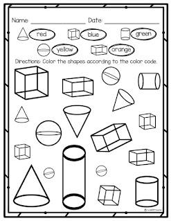 3D shape activities