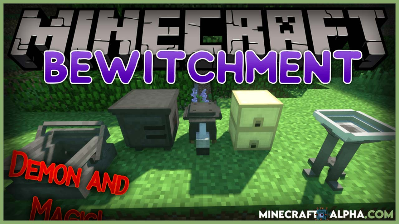 Minecraft Bewitchment Mod 1.17.1 (Demon and Magic)