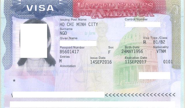 Dịch vụ làm visa du lịch Mỹ 2020 tại TP.HCM uy tín