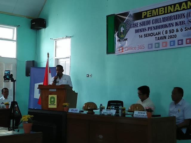 Gandeng Microsoft Indonesia, Disdik Sinjai Akan Terapkan Sistem Pembelajaran Digital