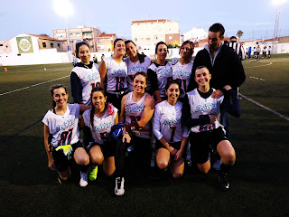 FLAG FOOTBALL - San Juan Dolphins continúa dominando la Liga Valenciana femenina por cuarto año seguido