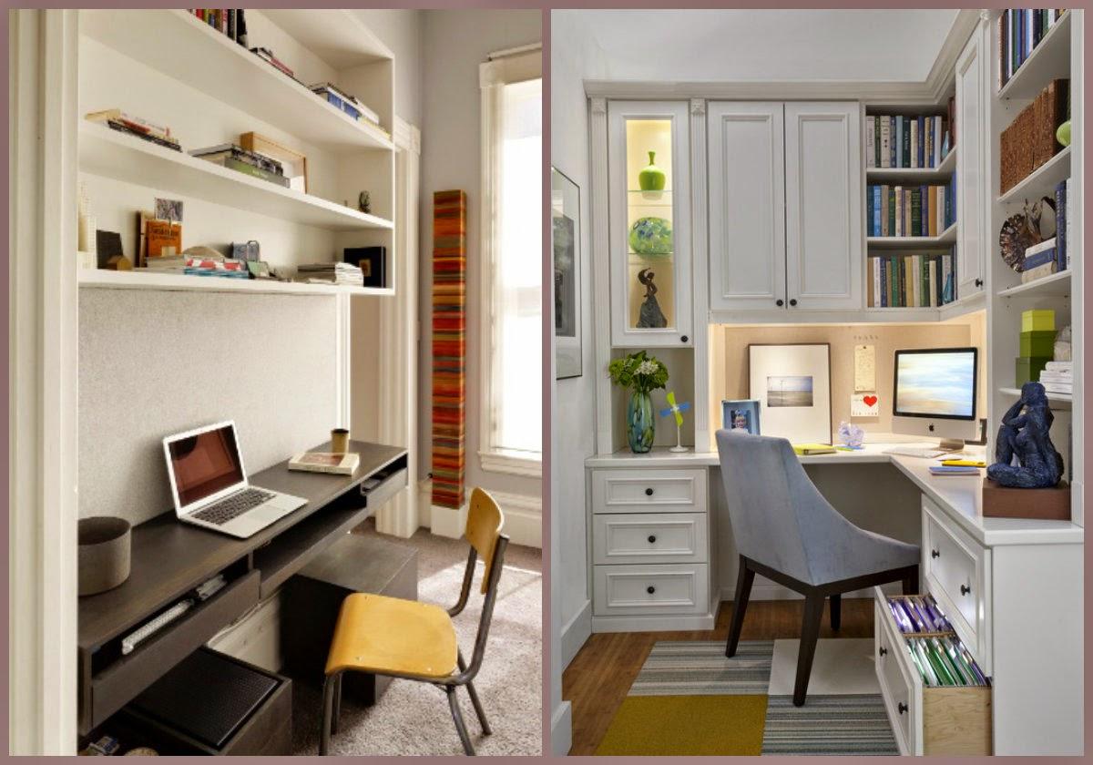 Decora O Home Office Uma Biblioteca Para Chamar De Sua Meu  ~ Quarto De Hospede E Escritorio No Mesmo Ambiente